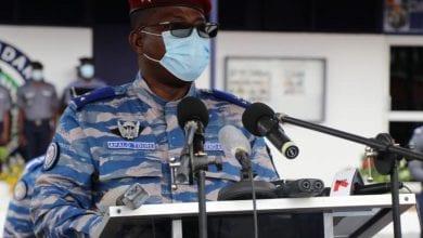 """Photo de Côte d'Ivoire/ Le Général Apalo pleure les gendarmes """"sauvagement tués"""" le 19 septembre 2002 à Agban et à Bouaké"""