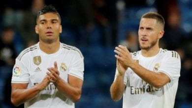 Photo de Real Madrid : Hazard et Casemiro testés positifs au Covid-19 !