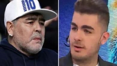 Photo de Il prétend être l'un des enfants de Maradona et exige que son corps soit déterré pour des tests ADN
