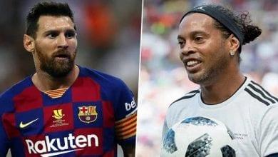 Photo de Football : Ronaldinho désigne trois joueurs plus forts que Messi