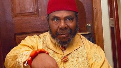 Photo de Pete Edochie : « le coronavirus est une punition de Dieu »