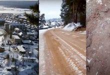 Photo de Une route remplie de crânes et d'os découverte en Sibérie