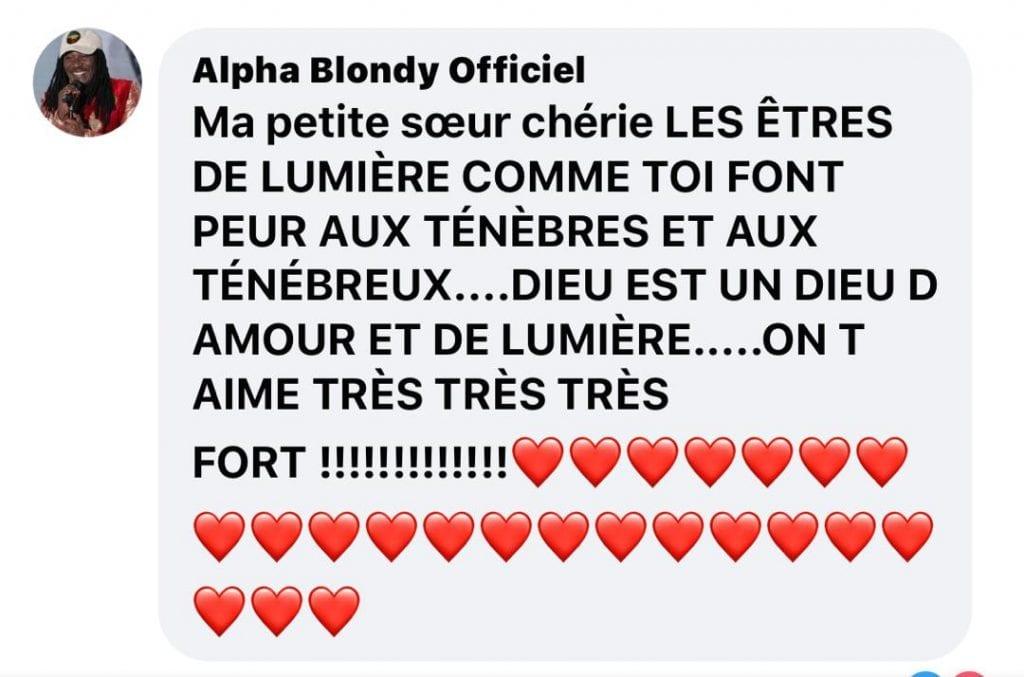 Affaire Yvidero lesbienne : Alpha Blondy s'en mêle