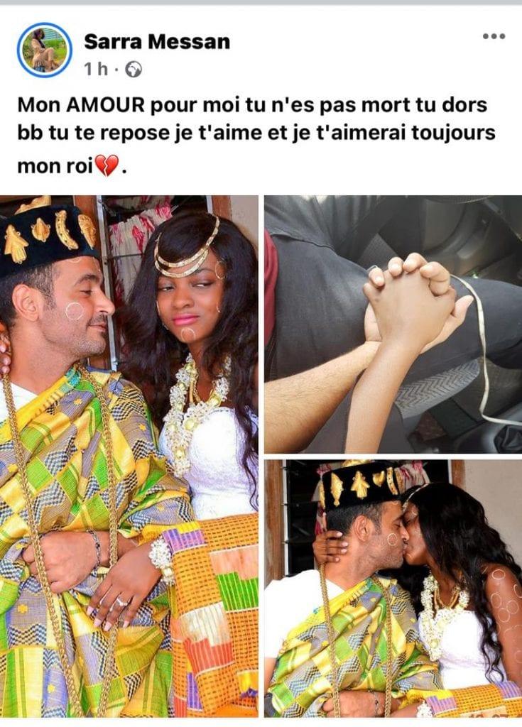 Sarah Messan : l'actrice ivoirienne vient de perdre son époux