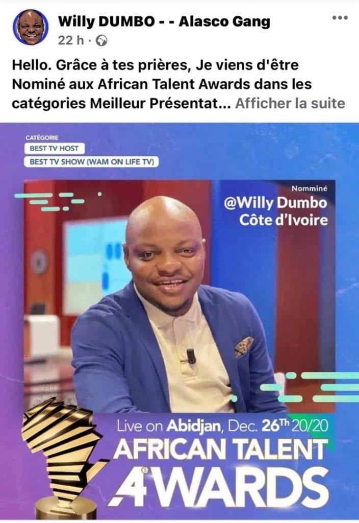 AFRICAN TALENT AWARDS: les nominations révélées, la toile brille aux couleurs de l'évènement