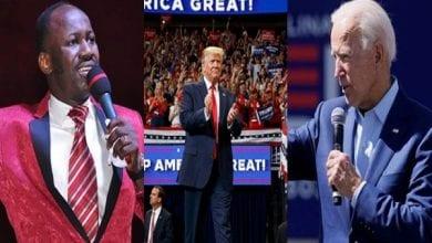 Photo de États-Unis/présidentielle 2020 : « Joe Biden sera destitué… », la prophétie de l'apôtre Johnson Suleman (vidéo)