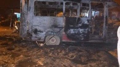 Photo de Côte d'Ivoire/ Plusieurs véhicules et un bus incendiés par des inconnus à Yopougon
