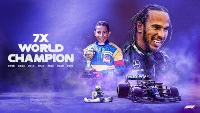 Photo de F1/ Sacré champion du monde en Turquie, Hamilton égale Michael Schumacher