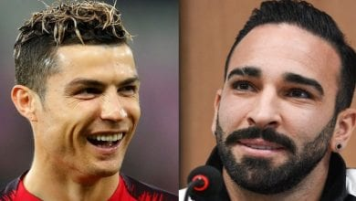 Photo de Adil Rami : « ce que Cristiano Ronaldo m'a dit lorsque je lui ai demandé son maillot pour la 3e fois »