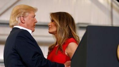 Photo de Donné perdant par tous aux  Etats-Unis/  Trump peut compter sur le soutien de Melania, son épouse