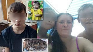 Photo de Russie : une mère meurt après avoir sauvé ses 5 enfants de l'incendie d'une maison