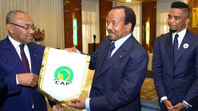 Photo de Élection à la présidence de la CAF : Paul Biya refuse la candidature de Samuel Eto'o !