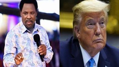 Photo de États-Unis/présidentielle 2020 : le pasteur TB Joshua dit à Donald Trump ce qu'il doit faire après sa défaite (vidéo)