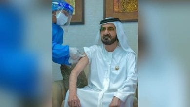Photo de Dubaï : le Premier Ministre reçoit le vaccin covid 19 (PHOTO)