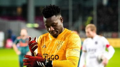 Photo de Ajax : Onana assume sa boulette contre Liverpool