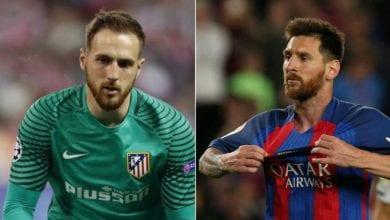 """Photo de Oblak rend un magnifique hommage à Lionel Messi: """"Il est le meilleur"""""""