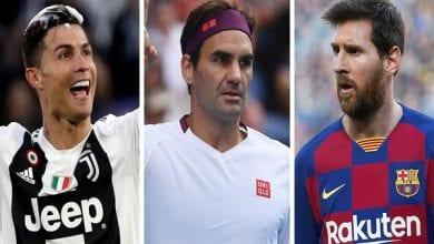 Photo de Forbes 2020 : Ronaldo et Messi derrière Federer…Voici le Top 20 des célébrités les mieux payées