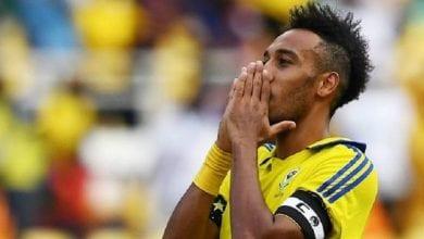 Photo de Football: Pierre-Emerick Aubameyang, condamné à une amende de 10 000 $ par la CAF