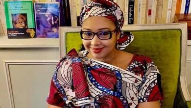 """Photo de Djaïli Amadou Amal récompensée par """"le Goncourt des Lycéens"""" pour son livre très engagé """"Les impatientes"""""""