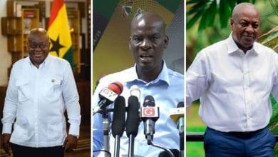 Photo de Ghana: l'opposition rejette les résultats de l'élection présidentielle