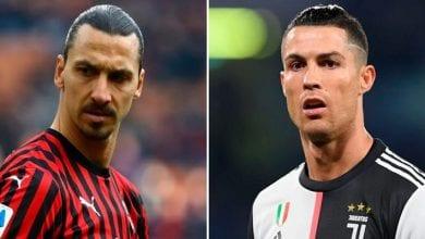 Photo de « L'un joue pour l'équipe, l'autre pour lui-même », la presse italienne compare Zlatan et Cristiano