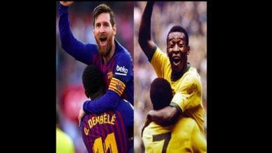 Photo de La légende brésilienne, Pelé détient le plus grand nombre de ballon d'or, Messi largement derrière lui