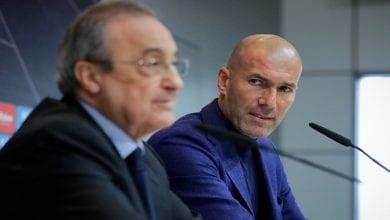 Photo de Real Madrid : Voici la décision de Florentino Perez concernant Zidane (COPE)