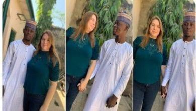 Photo de Une Américaine de 46 ans débarque au Nigeria pour épouser un jeune de 23 ans, la toile réagit | Photos