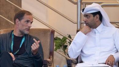 Photo de PSG : le président Nasser Al-Khelaifi adresse un message à Thomas Tuchel