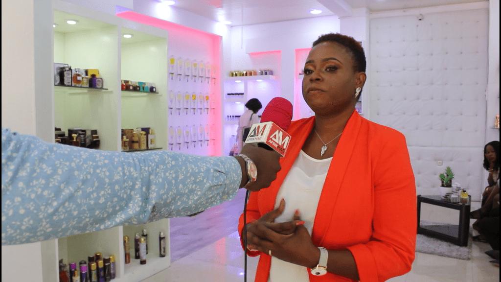 Abidjan/Cocody : Inauguration de la boutique TATHYS, bar à parfum sur mesure by Zita