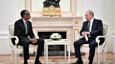 Photo de Centrafrique: Vladimir Poutine et Kagamé envoient des centaines de militaires