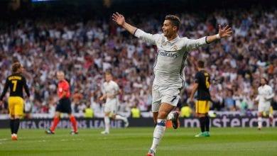 Photo de Real Madrid-Atletico Madrid: Cristiano Ronaldo meilleur buteur du derby