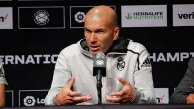 Photo de Real Madrid / Zidane désigne «  le meilleur attaquant français de l'histoire »
