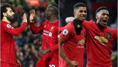 Photo de Pariez Cash sur Liverpool contre Manchester United ce dimanche