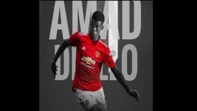 Photo de Manchester United  annonce la signature de l'ivoirien Amad Diallo