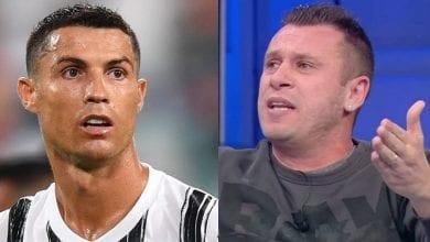 Photo de « Il est très bon, mais il n'y a aucune comparaison à faire avec Cristiano Ronaldo » soutient Cassano