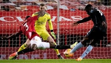Photo de Manchester United – Aston Villa (2 – 1) : le magnifique tacle d'Eric Bailly qui sauve MU !