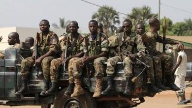 Photo de Centrafrique: l'armée chasse les rebelles de la ville de Boda
