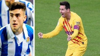"""Photo de Barrenetxea: """"Messi est le meilleur joueur de tous les temps"""""""