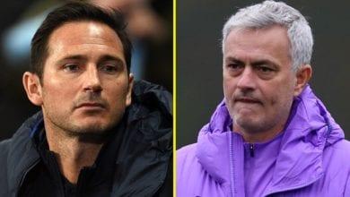 Photo de « C'est la brutalité… », Mourinho réagit au licenciement de Frank Lampard