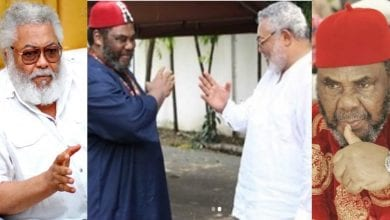 Photo de Le dernier message de l'acteur de Nollywood Pete Edochie à Jerry John Rawlings- Vidéo