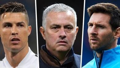 Photo de José Mourinho désigne les 3 « petits monstres » qui remplaceront Messi et Ronaldo