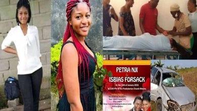 Photo de Cameroun: une jeune femme meurt dans un accident de voiture à 5 jours de son mariage