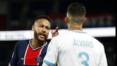 Photo de PSG-OM : « Quand une personne est beaucoup moins intelligente que toi… », Alvaro tacle Neymar