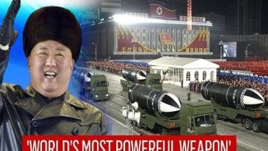 Photo de Corée du Nord: Kim Jong-un dévoile « l'arme la plus puissante du monde »