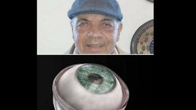 Photo de Aveugle, il retrouve la vue après une greffe de cornée artificielle