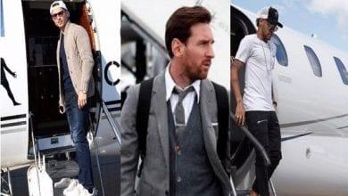 Photo de Messi, Cristiano Ronaldo ou Neymar : qui possède le jet privé le plus cher ? (photos)