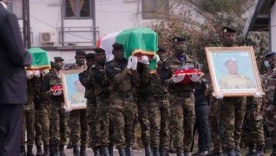 Photo de Côte d'Ivoire: Alassane Ouattara pleure les Casques bleus ivoiriens tombés au Mali