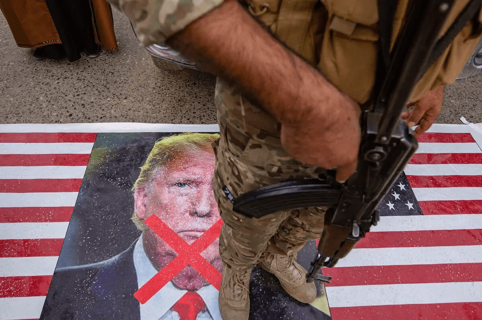 L'Irak lance un mandat d'arrêt contre Trump