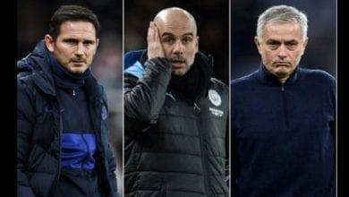 Photo de Départ de Lampard de Chelsea: les réactions de Mourinho, Guardiola et Thiago Silva